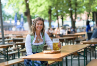 Shooting mit dem amtierenden tz-Wiesn-Madl Stephanie