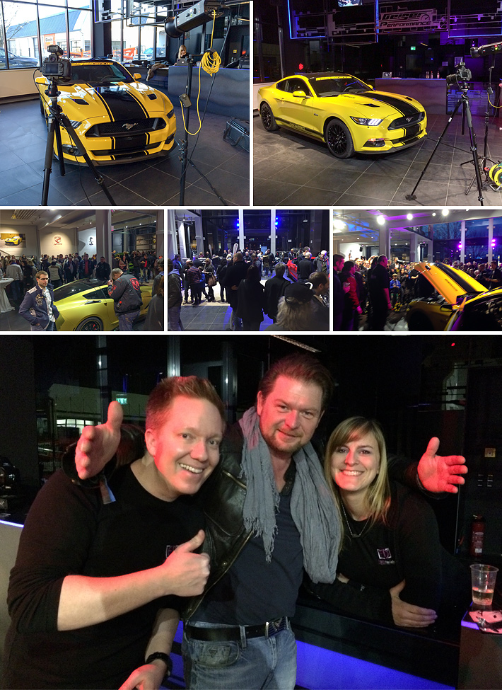 Blitzerfotos bei der Geigercars-Powernight