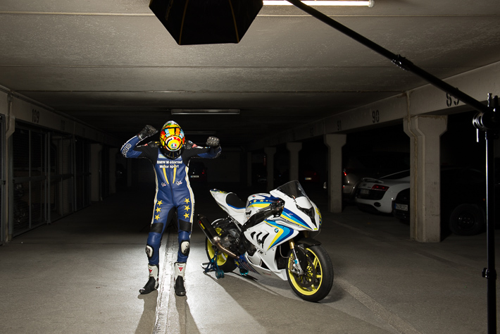 I am a Racer - Motorrad Fotoshooting BMW S 1000 RR
