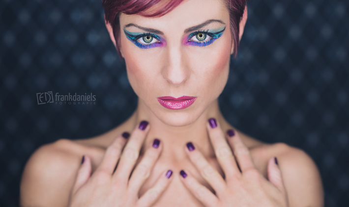 Extreme MakeUp Ringlicht-Shooting mit Andrea