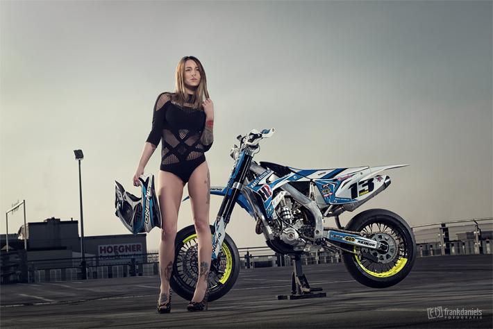 Motorrad Fotoshooting